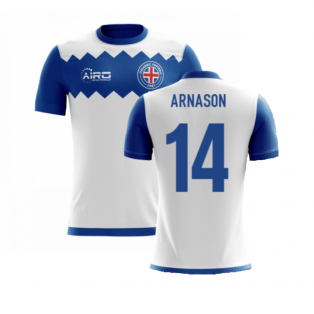 2020-2021 Iceland Airo Concept Away Shirt (Arnason 14) - Kids
