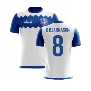 2020-2021 Iceland Airo Concept Away Shirt (B Bjarnason 8) - Kids
