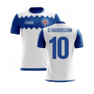 2020-2021 Iceland Airo Concept Away Shirt (G Sigurdsson 10) - Kids