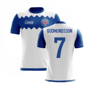 2020-2021 Iceland Airo Concept Away Shirt (Gudmundsson 7) - Kids