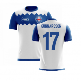 2020-2021 Iceland Airo Concept Away Shirt (Gunnarsson 17) - Kids
