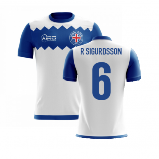 2020-2021 Iceland Airo Concept Away Shirt (R Sigurdsson 6) - Kids