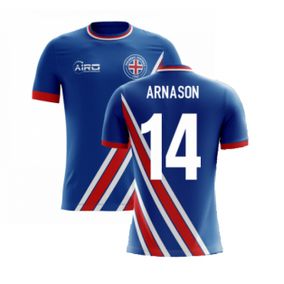 2020-2021 Iceland Airo Concept Home Shirt (Arnason 14) - Kids