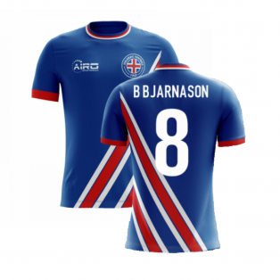 2020-2021 Iceland Airo Concept Home Shirt (B Bjarnason 8) - Kids