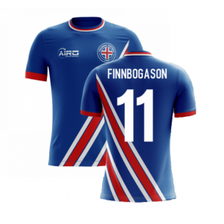 2020-2021 Iceland Airo Concept Home Shirt (Finnbogason 11) - Kids