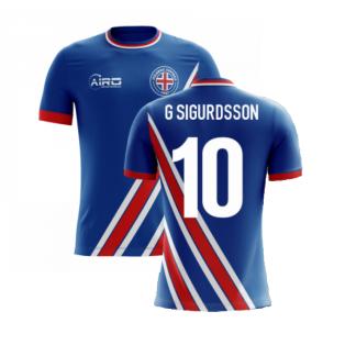 2020-2021 Iceland Airo Concept Home Shirt (G Sigurdsson 10) - Kids