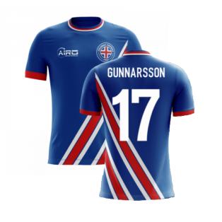 2020-2021 Iceland Airo Concept Home Shirt (Gunnarsson 17) - Kids