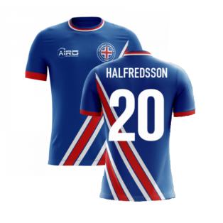 2020-2021 Iceland Airo Concept Home Shirt (Halfredsson 20) - Kids