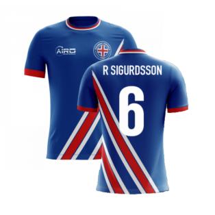 2020-2021 Iceland Airo Concept Home Shirt (R Sigurdsson 6) - Kids