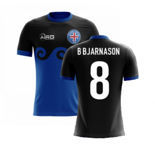 2020-2021 Iceland Airo Concept Third Shirt (B Bjarnason 8) - Kids