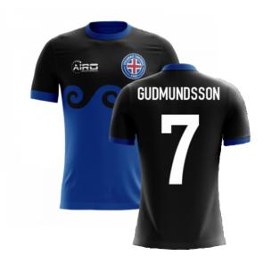 2020-2021 Iceland Airo Concept Third Shirt (Gudmundsson 7) - Kids