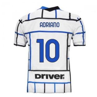 2020-2021 Inter Milan Away Nike Football Shirt (ADRIANO 10)