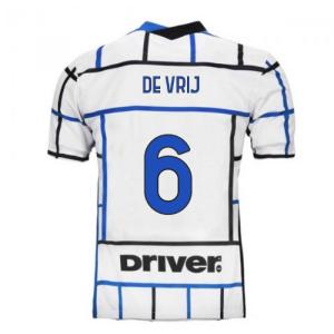 2020-2021 Inter Milan Away Nike Football Shirt (DE VRIJ 6)