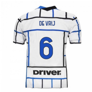 2020-2021 Inter Milan Away Nike Football Shirt (DE VRIJ 6)