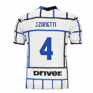 2020-2021 Inter Milan Away Nike Football Shirt (J.ZANETTI 4)