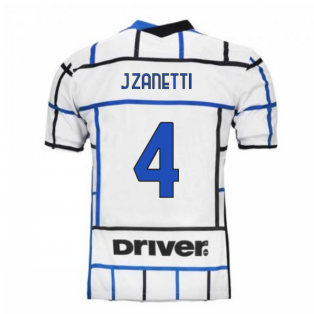 2020-2021 Inter Milan Away Nike Football Shirt (Kids) (J.ZANETTI 4)