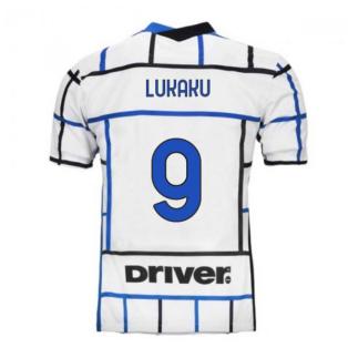 2020-2021 Inter Milan Away Nike Football Shirt (LUKAKU 9)