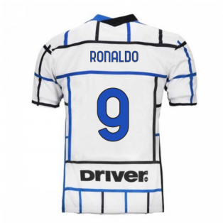 2020-2021 Inter Milan Away Nike Football Shirt (RONALDO 9)