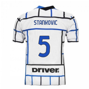 2020-2021 Inter Milan Away Nike Football Shirt (STANKOVIC 5)