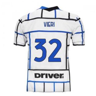 2020-2021 Inter Milan Away Nike Football Shirt (VIERI 32)