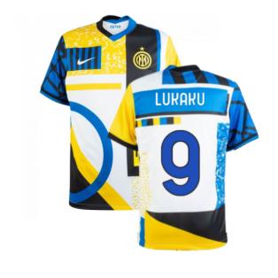 2020-2021 Inter Milan Fourth Shirt (Kids) (LUKAKU 9)