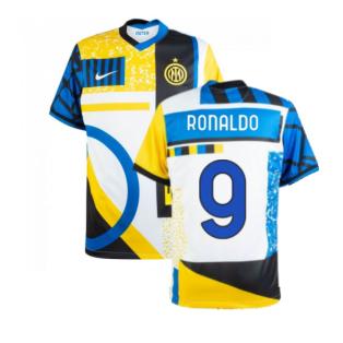 2020-2021 Inter Milan Fourth Shirt (Kids) (RONALDO 9)