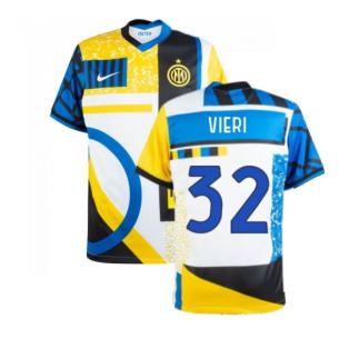2020-2021 Inter Milan Fourth Shirt (Kids) (VIERI 32)