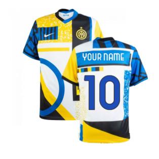 2020-2021 Inter Milan Fourth Shirt (Kids) (Your Name)
