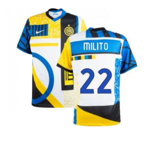 2020-2021 Inter Milan Fourth Shirt (MILITO 22)