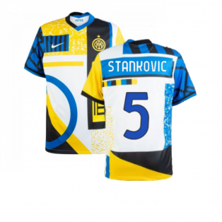 2020-2021 Inter Milan Fourth Shirt (STANKOVIC 5)
