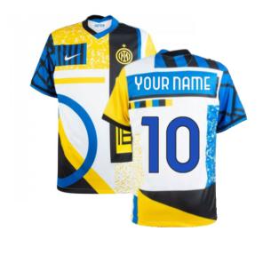 2020-2021 Inter Milan Fourth Shirt (Your Name)