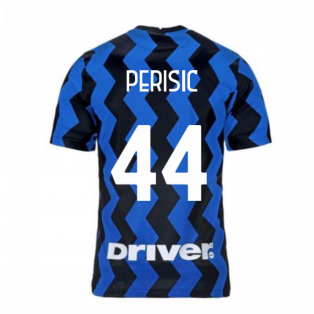 2020-2021 Inter Milan Home Nike Football Shirt (Kids) (PERISIC 44)