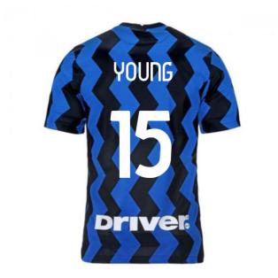 2020-2021 Inter Milan Home Nike Football Shirt (Kids) (YOUNG 15)
