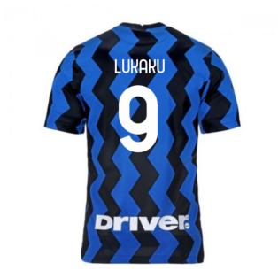 2020-2021 Inter Milan Home Nike Football Shirt (LUKAKU 9)