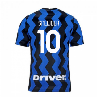 2020-2021 Inter Milan Home Nike Football Shirt (SNEIJDER 10)
