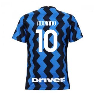 2020-2021 Inter Milan Home Nike Womens Football Shirt (ADRIANO 10)