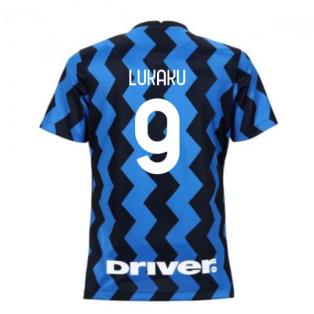 2020-2021 Inter Milan Home Nike Womens Football Shirt (LUKAKU 9)