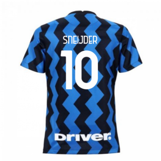2020-2021 Inter Milan Home Nike Womens Football Shirt (SNEIJDER 10)