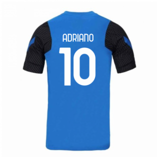 2020-2021 Inter Milan Nike Training Shirt (Blue) (ADRIANO 10)