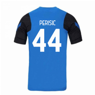 2020-2021 Inter Milan Nike Training Shirt (Blue) (PERISIC 44)