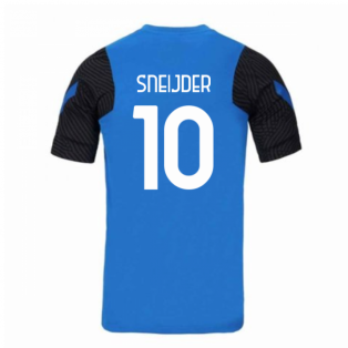 2020-2021 Inter Milan Nike Training Shirt (Blue) (SNEIJDER 10)