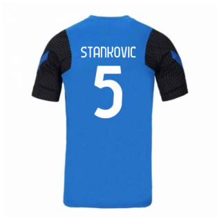 2020-2021 Inter Milan Nike Training Shirt (Blue) (STANKOVIC 5)