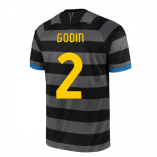 2020-2021 Inter Milan Third Shirt (GODIN 2)