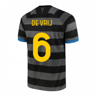 2020-2021 Inter Milan Third Shirt (Kids) (DE VRIJ 6)