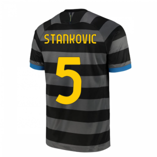 2020-2021 Inter Milan Third Shirt (Kids) (STANKOVIC 5)
