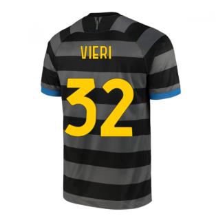 2020-2021 Inter Milan Third Shirt (Kids) (VIERI 32)