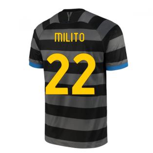 2020-2021 Inter Milan Third Shirt (MILITO 22)