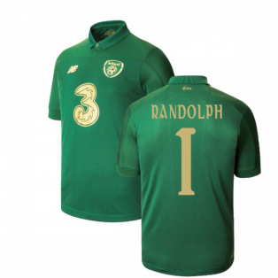 2020-2021 Ireland Home New Balance Football Shirt (Kids) (RANDOLPH 1)