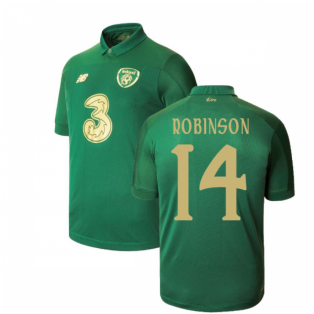 2020-2021 Ireland Home New Balance Football Shirt (Kids) (ROBINSON 14)