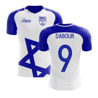 2020-2021 Israel Home Concept Football Shirt (Dabour 9) - Kids